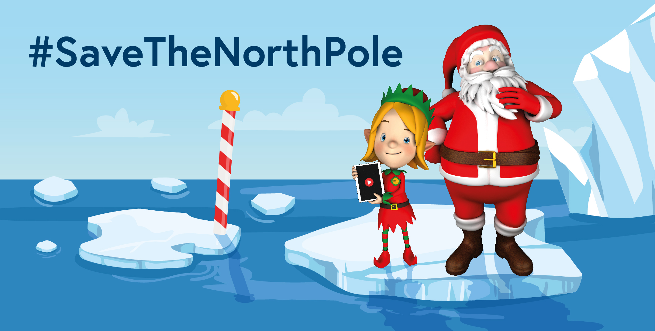 Save The North Pole with Kids Invent Stuff