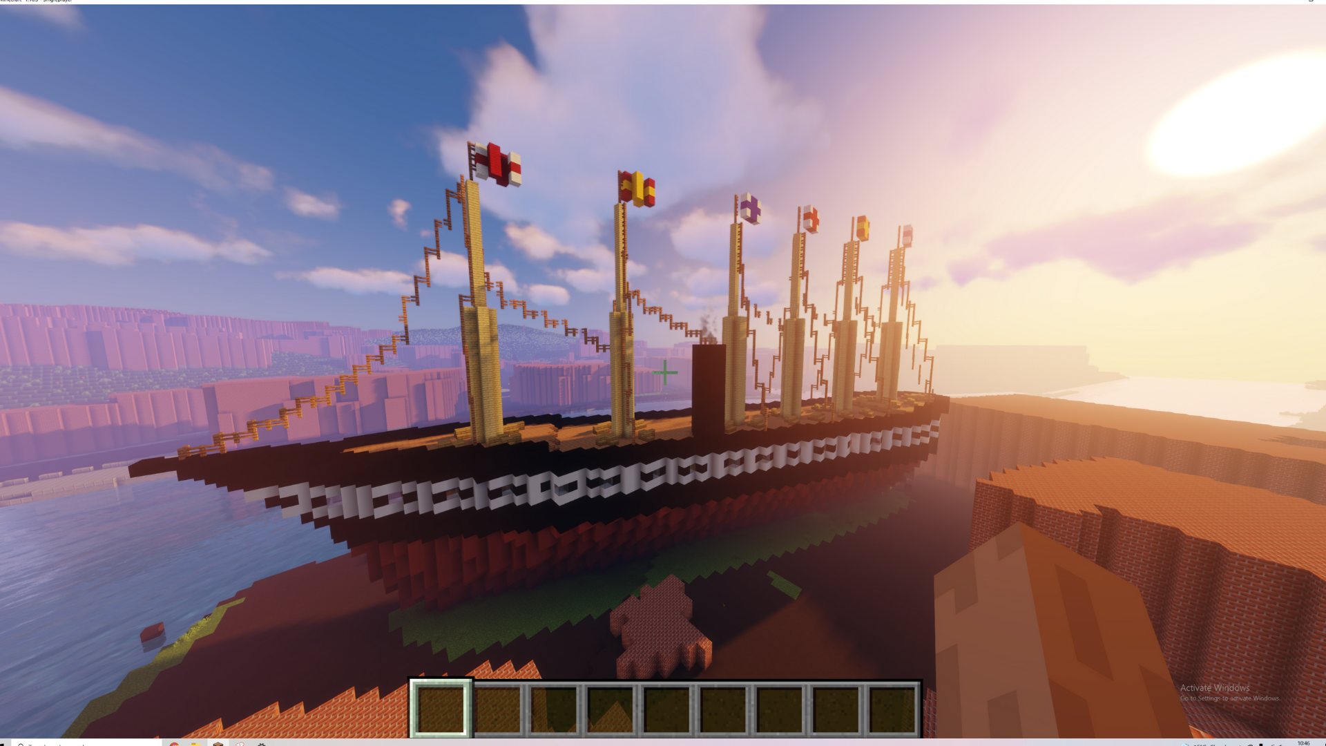 The West in Minecraft