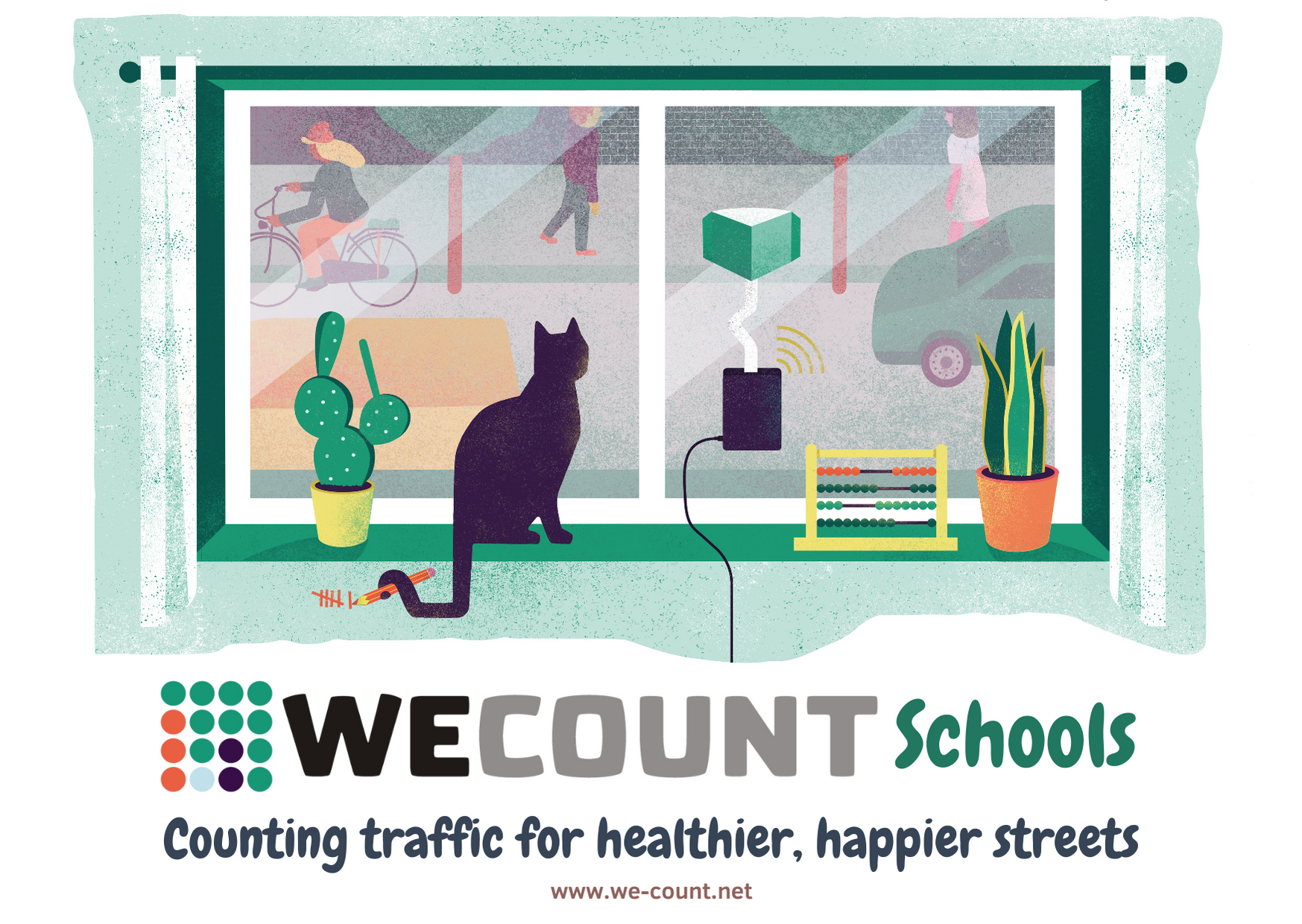 WeCount Schools – explore air pollution and traffic in your local area
